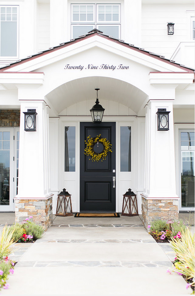 Front Door Lantern. Front Door Lantern Ideas. Front Door Lantern Lighting. Front Door Lantern Decor. #FrontDoorLantern Brandon Architects, Inc.