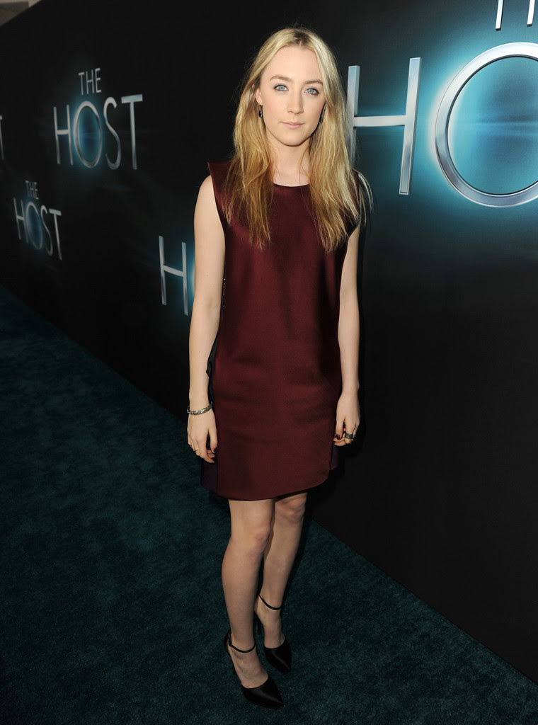 "Saoirse Ronan - Premiere Of Open Road Films ""The Host"" - Red Carpet"