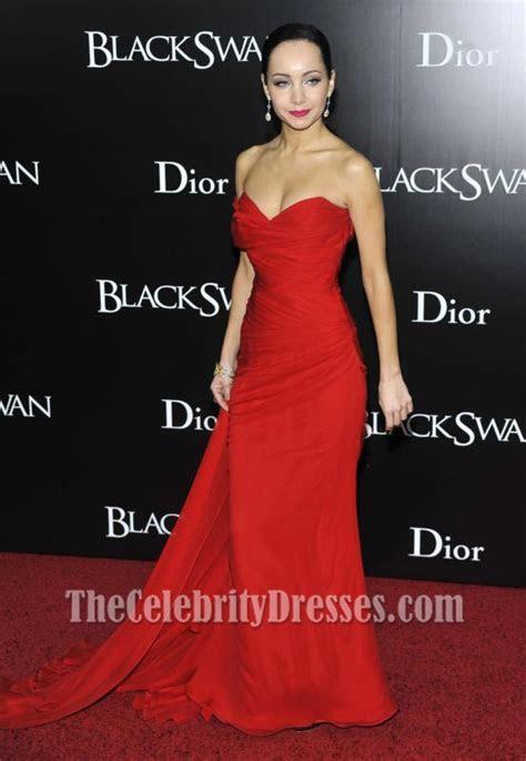Ksenia Solo Red Chiffon Prom Dress New York Black Swan