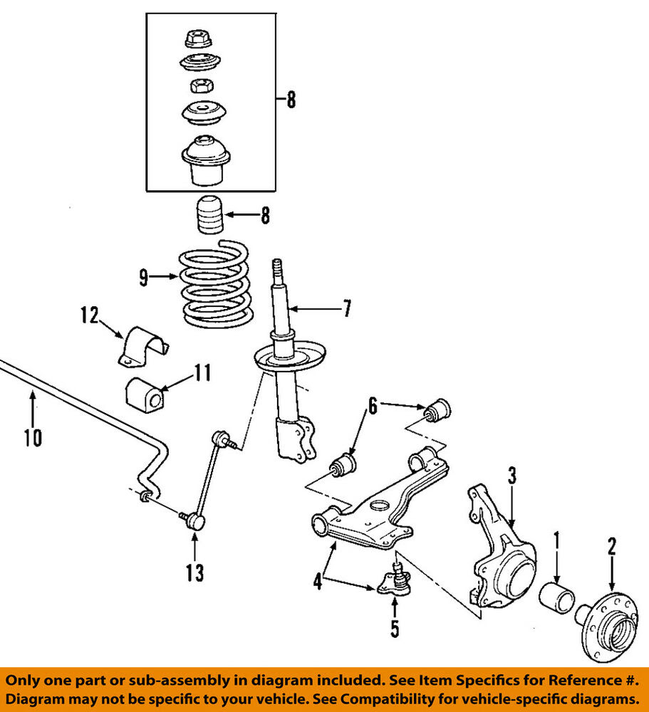 33 Saturn Rear Suspension Diagram