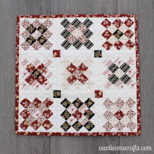 Teeny Granny Square Quilt
