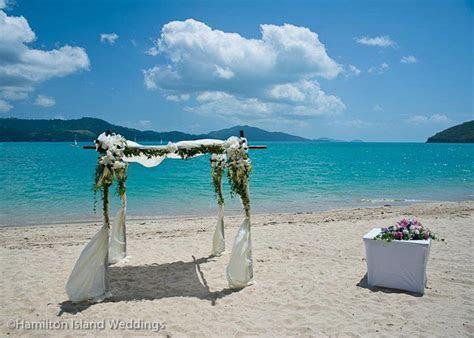 Floral Altar   Photo Courtesy of Hamilton Island Weddings