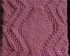 Eglantine socks - close-up 1