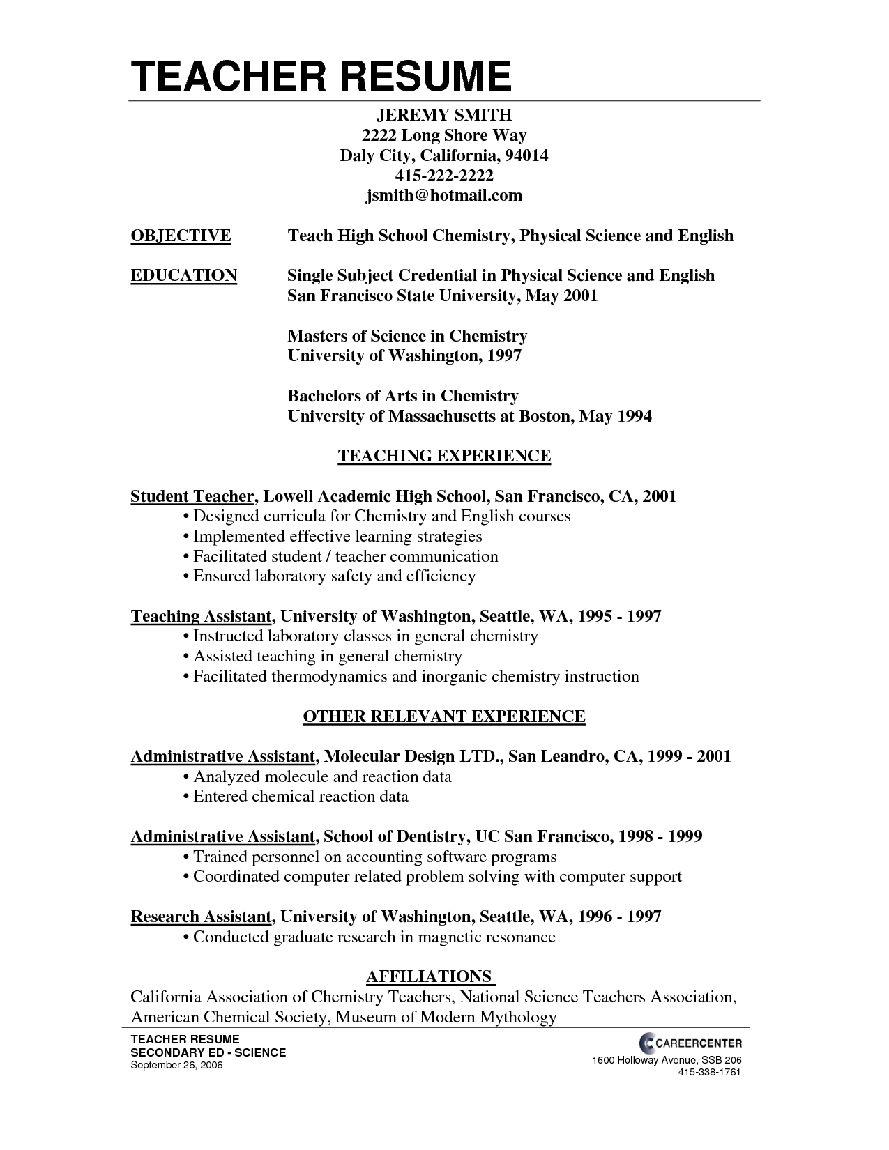 Objective for the teacher resume popular phd article review example