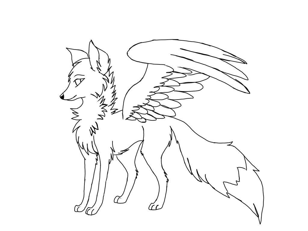 Fox Drawing Wallpaper at GetDrawings | Free download