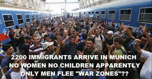 immigrants are soldiers