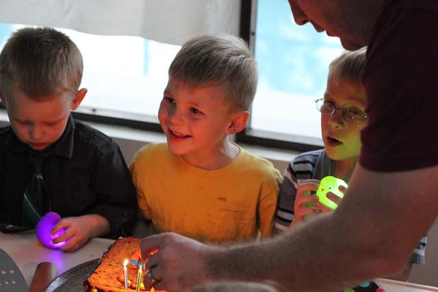 Jonathan's Fifth Birthday
