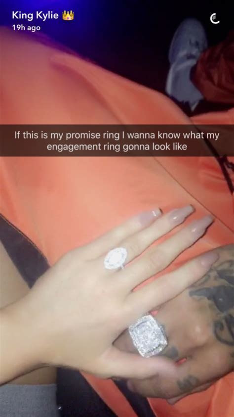 Kylie Jenner Is Wearing a Wedding Ring?From Tyga