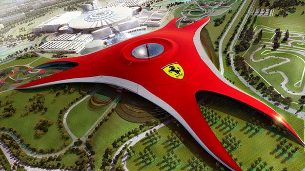 Ferrari World theme park