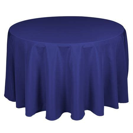 TCPY 120RY 120 Inch Royal Blue Polyester Tablecloth TCPY
