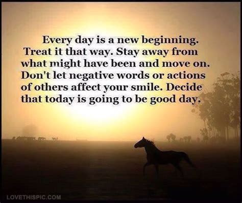 Everyday A New Beginning Quotes