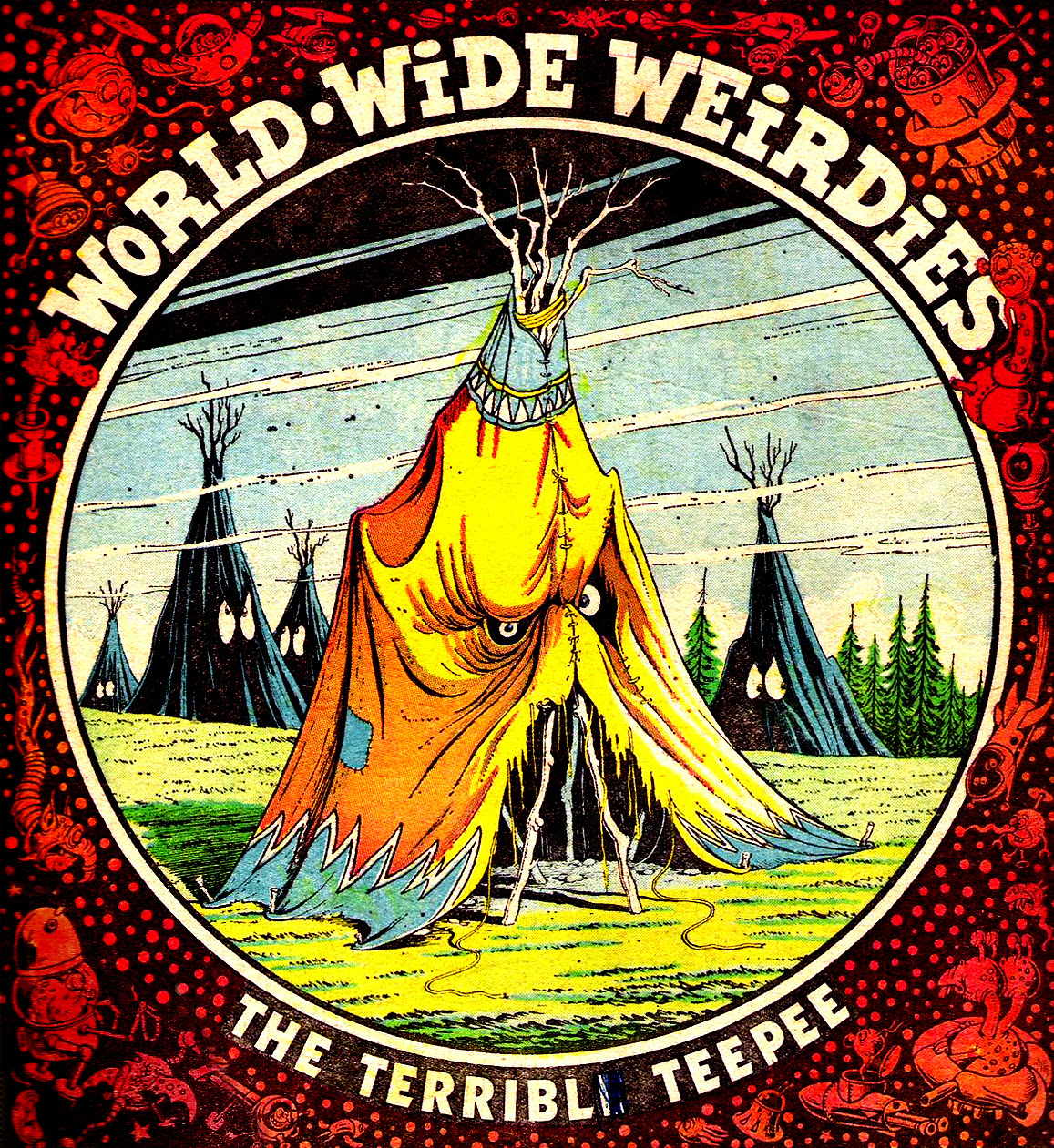Ken Reid - World Wide Weirdies 36