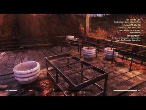 Где найти лопату в Fallout 76