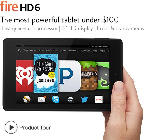 Fire HD 6: quick tour