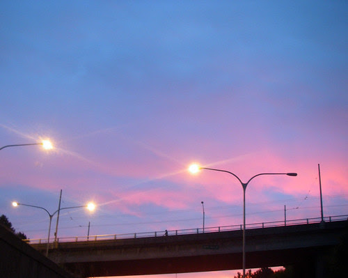 red sky at morn