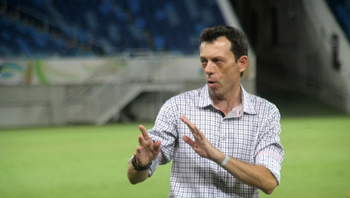Alecrim - Fernando Tonet, técnico (Foto: Fabiano de Oliveira)