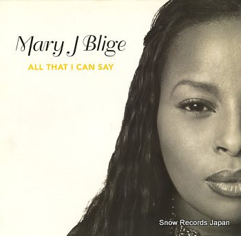 BLIGE, MARY J. all that i can say