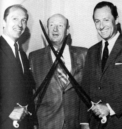 Northrup and Seymour Knox with Punch Imlauch photo NorthrupandSeymourKnoxwithPunchImlauch.jpg