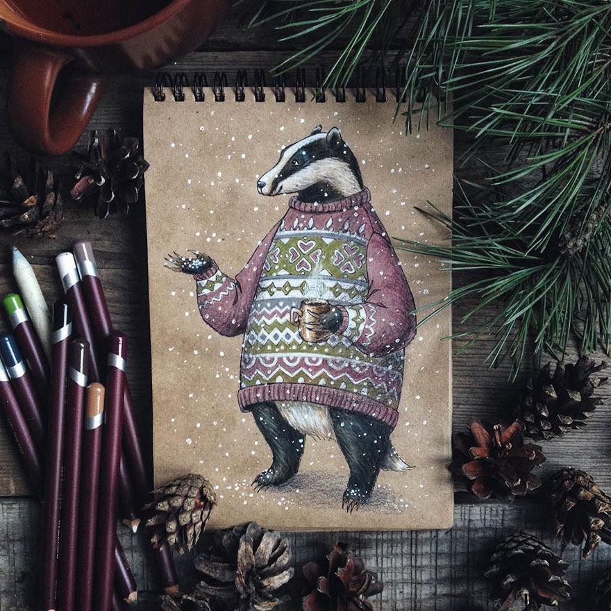 ilustraciones-cuentos-hadas-lapices-colores-lia-selina (13)