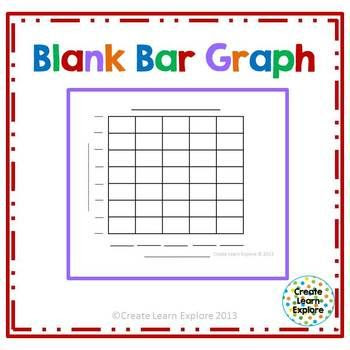 Blank Bar Graph- This is my main free item! | TpT Math Lessons ...