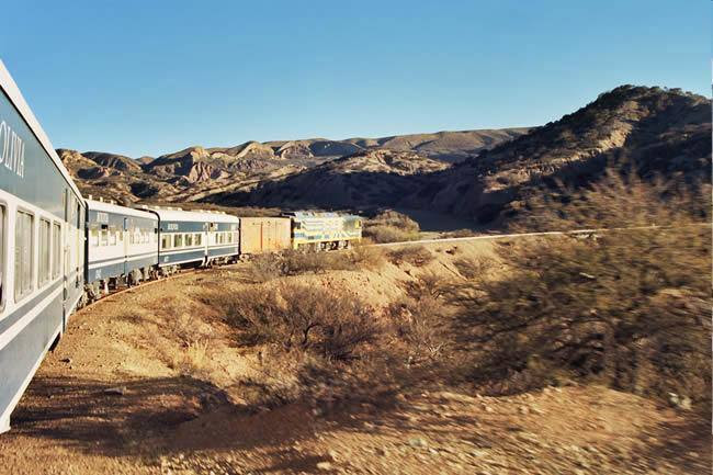 Tren desde Villazón Bolivia