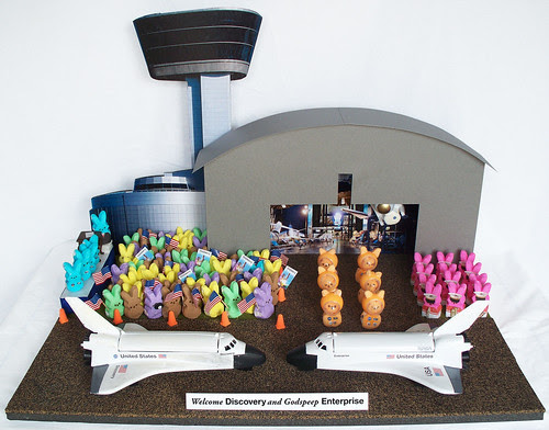Peeps Show: National Air and Space Museum Welcomes Discovery by Smithsonian National Air and Space Museum