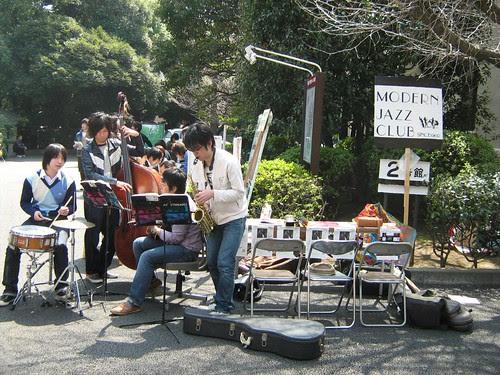 The modern jazz club in Waseda University