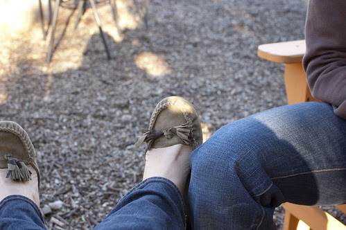 wine tasting, feet