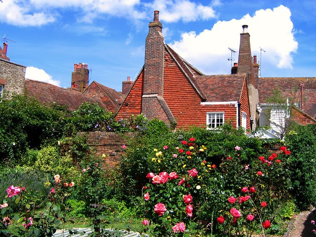The Garden at Henry James' Lamb House, Rye
