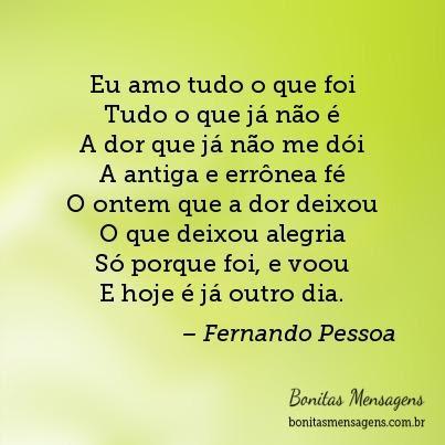 Frases De Amor Fernando Pessoa Saudades Mensagens Poemas Poesias