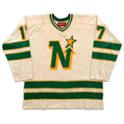 Minnesota North Stars 76-77 jersey