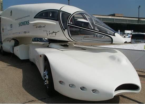 Caminhão do futuro quer reinventar o transporte