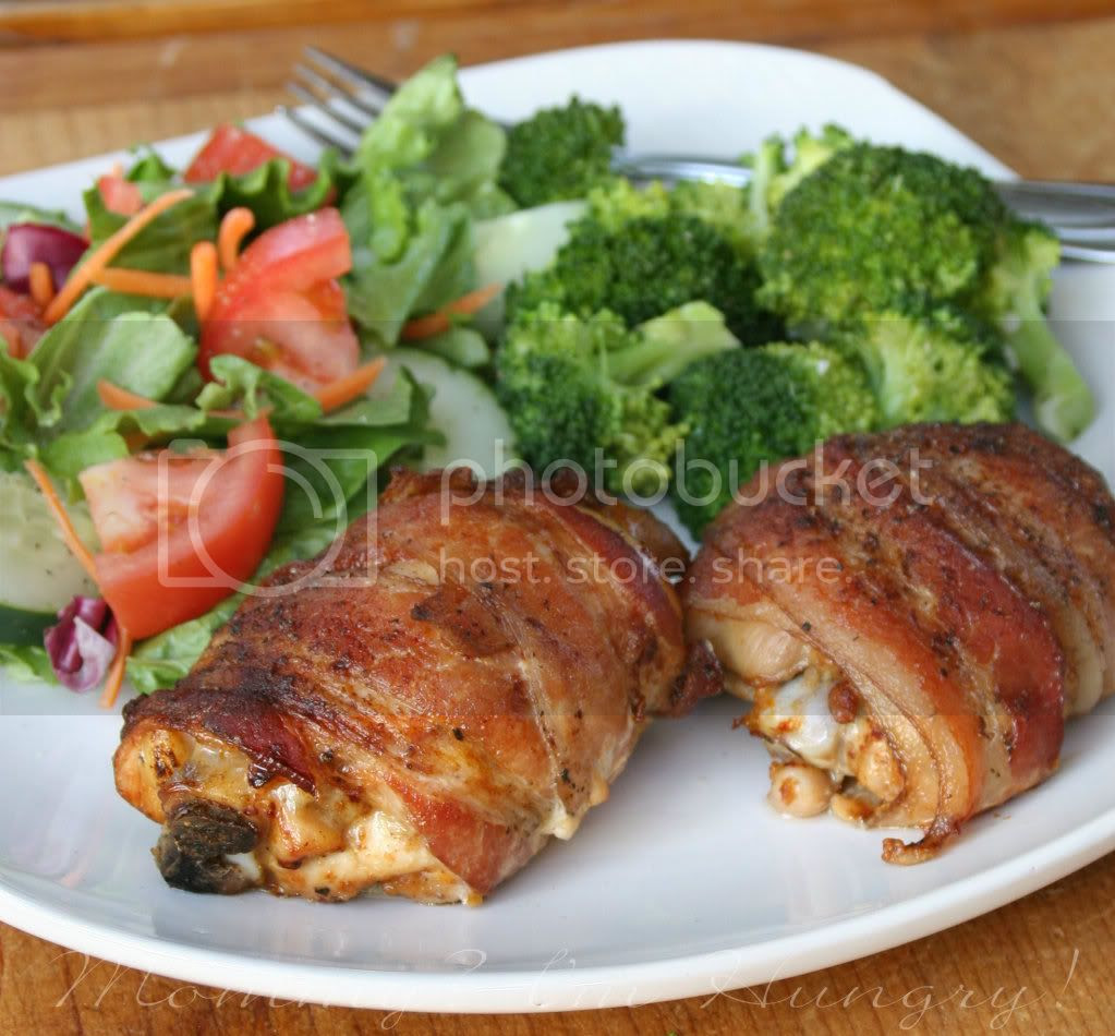 MIH Recipe Blog: Bacon Wrapped Smoky Chicken