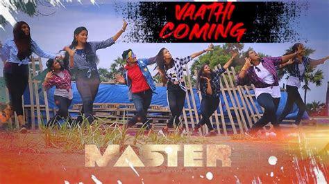 master vaathi coming cover thalapathy vijay anirudh