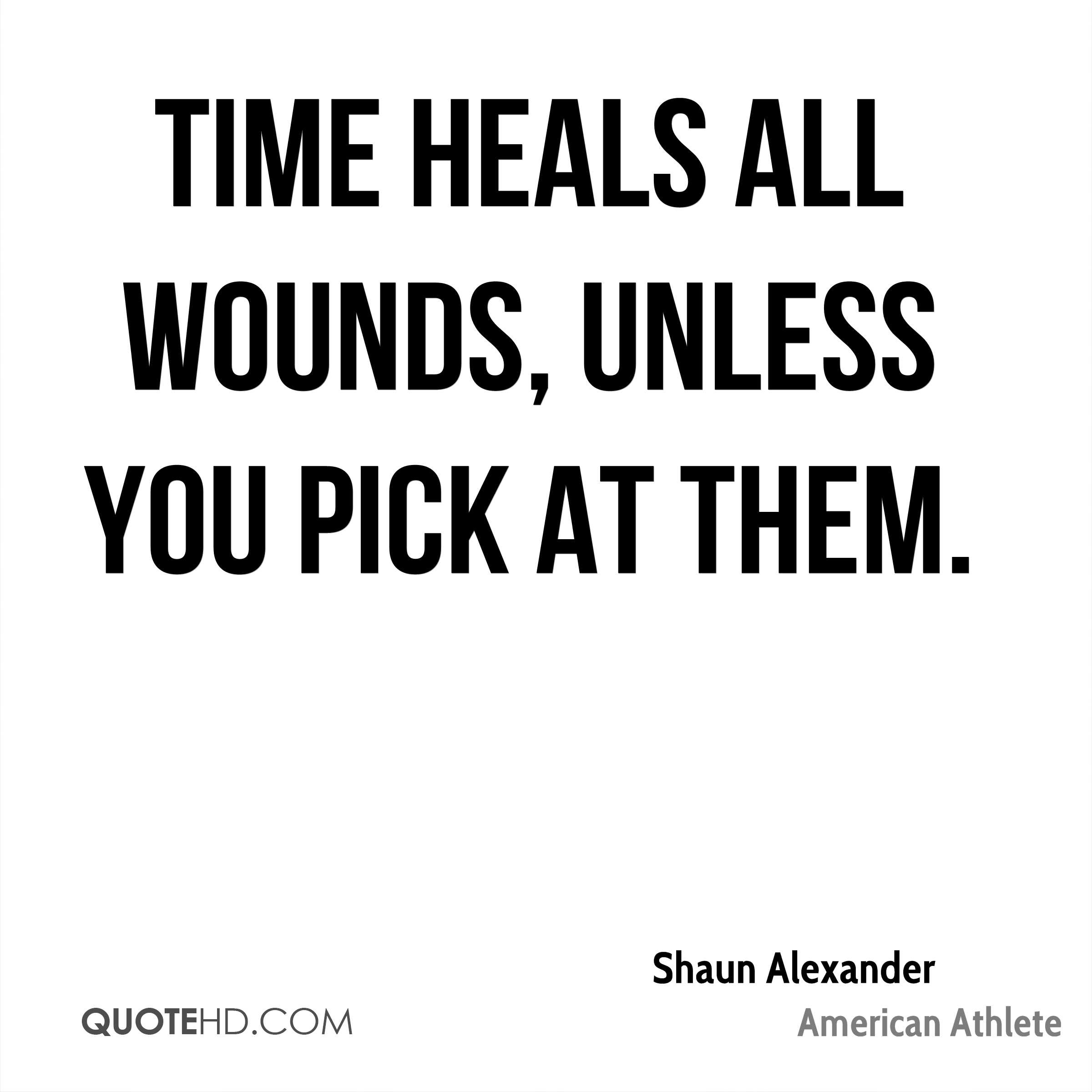 Awesome Time Heals All Wounds Quote