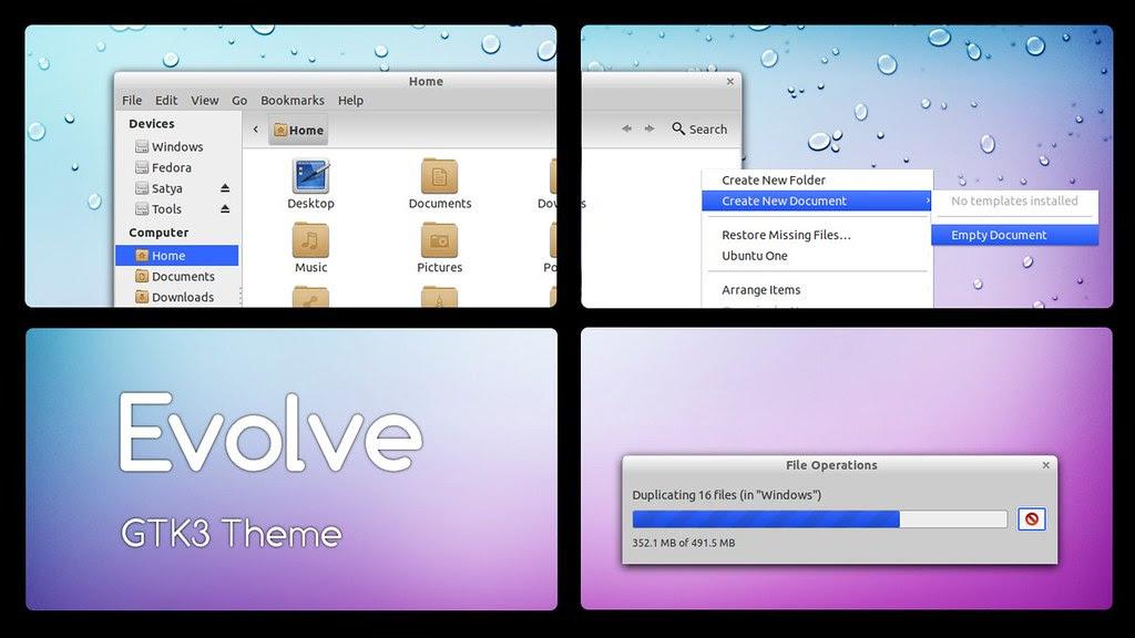 Ubuntu 11.10 Themes