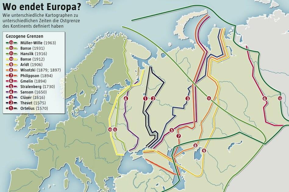 Wo Ist Die Grenze Zwischen Europa Und Asien In Der Türkei