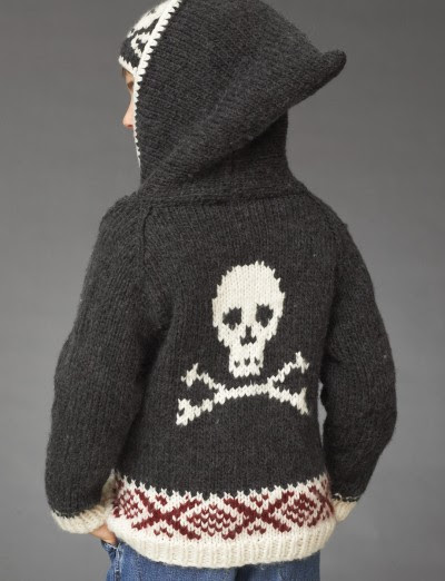 Craft Passions: Skull Hoodie with Hat..# free #knitting ...
