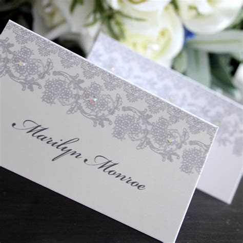 wedding place card / name card by 2by2 creative