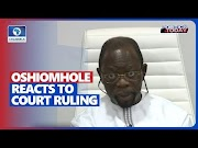 Breaking News: Report Says,  Oshiomhole Reacts To Court Ruling, Warns Giadom Against Destabilizing The APC. Watch out! @NewspageNg #Newspagecomng