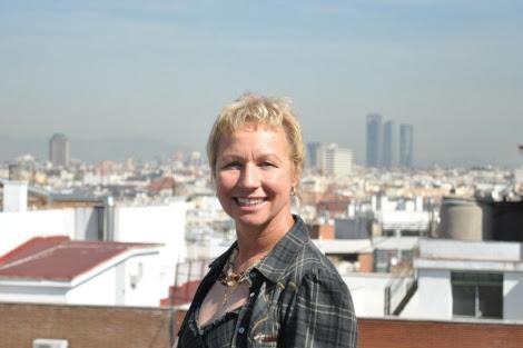 La escritora alemana Sarah Lark está en Madrid presentando su última novela