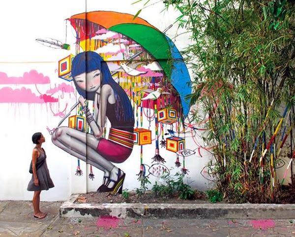 Amazing Huge Street Art on Building Walls (30)