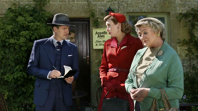 father.brown.lady.felicia.red.suit.dress