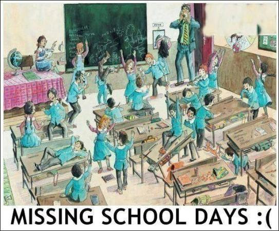 Missing School Days Feelings Emotions Images Photos