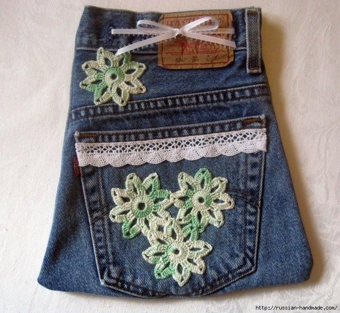 Модные сумки из старых джинсов (43) (700x644, 313Kb)