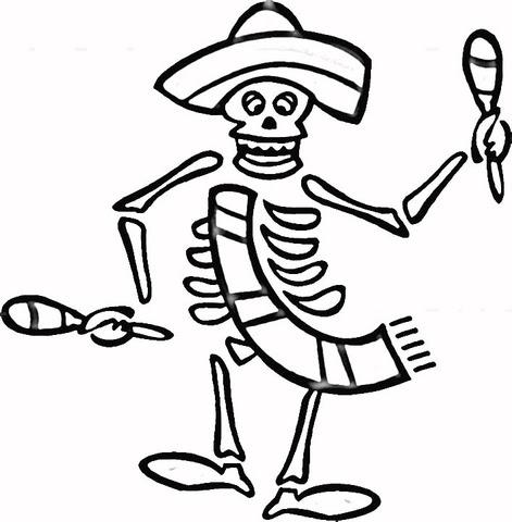 Dibujos Para Colorear De Dia De Muertos Imagesacolorierwebsite