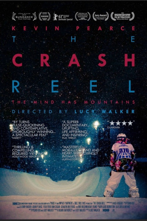 The Crash Reel - Movie Poster with Kevin Pearce
