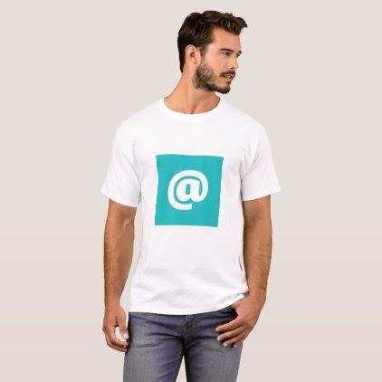 Hipstar @ T-Shirt (Blue, mens)