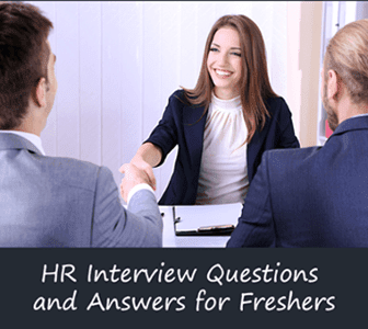HR Interview Questions for Freshers with best Answers and ...