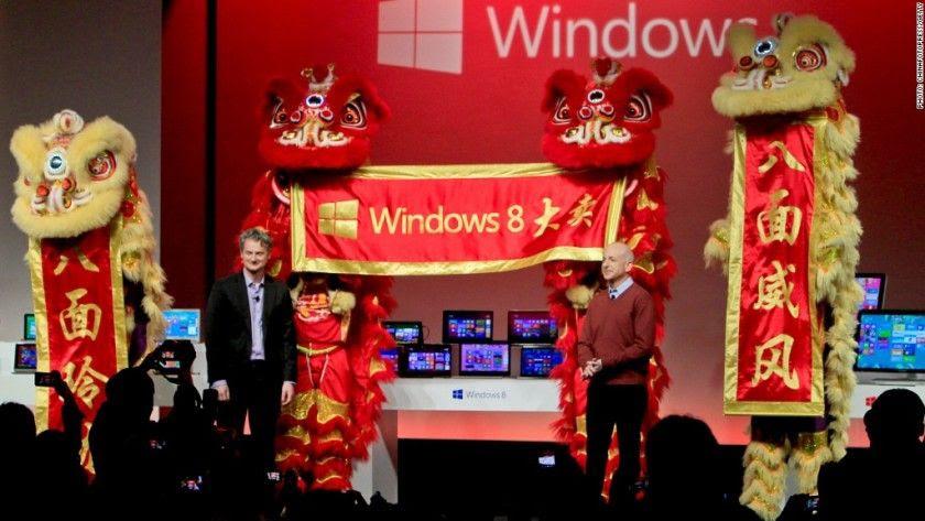 Windows 10 no tiene el éxito esperado en China
